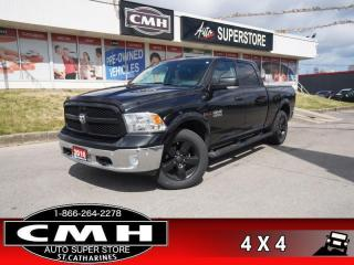 Used 2016 RAM 1500 SLT  DIESEL CREW 4X4 NAV CAM PARK-SENS for sale in St. Catharines, ON