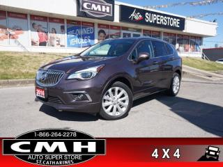 Used 2016 Buick Envision Premium I  AWD NAV PANO LEATH CAM HS for sale in St. Catharines, ON