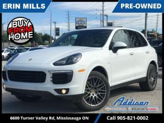 Used 2017 Porsche Cayenne S Platinum E-Hybrid  NAVI|PANO ROOF|HEATED/COOLED SEATS| for sale in Mississauga, ON