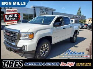 New 2021 GMC Canyon AT4 for sale in Mississauga, ON