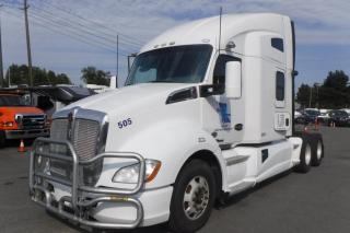 Used 2016 Kenworth T680 Highway Tractor Sleeper Cab Diesel for sale in Burnaby, BC