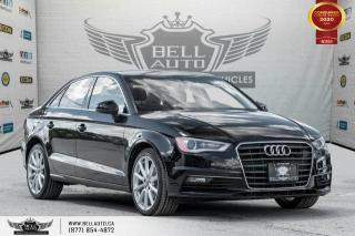Used 2015 Audi A3 TDI Progressiv, DIESEL, NO ACCIDENT, NAVI, SUNROOF for sale in Toronto, ON