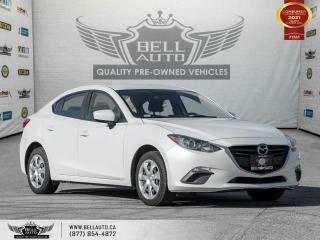 Used 2016 Mazda MAZDA3 GX, RearCam, NoAccident, CruiseControl, Bluetooth for sale in Toronto, ON