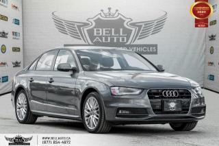 Used 2016 Audi A4 Komfort plus, AWD, SUNROOF, HEATED SEAT, BLUETOOTH for sale in Toronto, ON