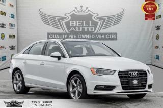 Used 2016 Audi A3 2.0T Komfort, AWD, NO ACCIDENT, SUNROOF, LEATHER for sale in Toronto, ON