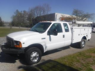 Used 2001 Ford F-350 SD XL SuperCab V10 Dually Manual Service Truck With Power Tailgate for sale in Burnaby, BC
