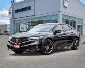 Used 2018 Acura TLX Sh-Awd for sale in Mississauga, ON