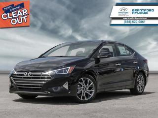New 2020 Hyundai Elantra Luxury  -  Sunroof - $159 B/W for sale in Brantford, ON
