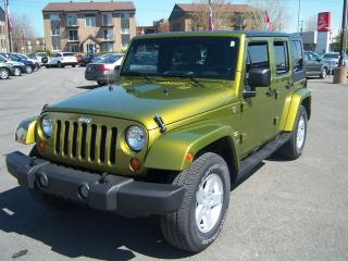 Used 2007 Jeep Wrangler Unlimited Sahara for sale in Saint-jean-sur-richelieu, QC