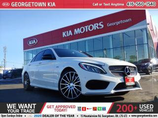 Used 2016 Mercedes-Benz C-Class C450 AMG 4MATIC | LEATHER | NAVI | DEALER SERVICED for sale in Georgetown, ON