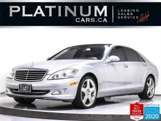 Used 2007 Mercedes-Benz S-Class S550, NAV, SUNROOF, CAM, HEATED, BLUETOOTH for sale in Toronto, ON
