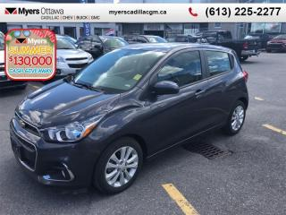 Used 2016 Chevrolet Spark LT  2LT, AUTO, SUNROOF, A/C, REAR CAMERA LOW KM! for sale in Ottawa, ON