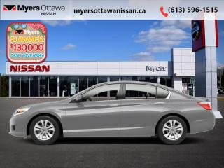 Used 2013 Honda Accord Sedan LX  - Heated Seats -  Bluetooth - $90 B/W for sale in Ottawa, ON