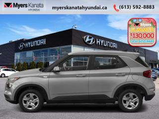 New 2020 Hyundai Venue Essential IVT  - $116 B/W for sale in Kanata, ON