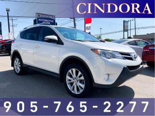 Used 2015 Toyota RAV4 Limited, AWD, Leather, Sunroof, NAV for sale in Caledonia, ON