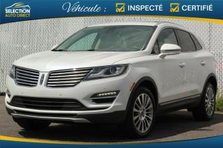 Used 2017 Lincoln MKC RESERVE AWD GPS Toit Pano for sale in Ste-Rose, QC