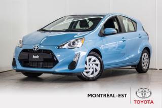 Used 2016 Toyota Prius c Technology BAS MILLAGE ,CAMÉRA DE RECUL for sale in Montréal, QC