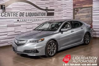 Used 2016 Acura TLX TECH+V6+MAGS+TOIT+BLUETOOTH+ AERO KIT for sale in Laval, QC