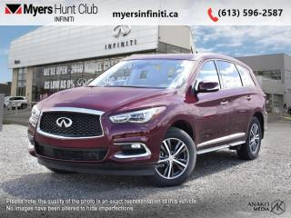 Used 2019 Infiniti QX60 PURE AWD  - Sunroof -  Heated Seats for sale in Ottawa, ON
