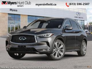 New 2020 Infiniti QX50 ProASSIST AWD  -  Sunroof -  Leather Seats for sale in Ottawa, ON