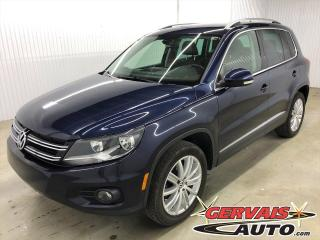 Used 2015 Volkswagen Tiguan TSI Highline AWD TOIT  CUIR for sale in Trois-Rivières, QC