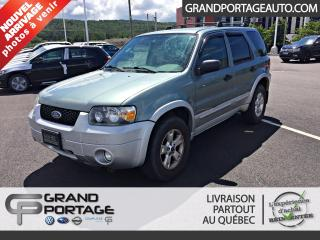 Used 2007 Ford Escape Traction avant 4 portes, boîte automatiq for sale in Rivière-Du-Loup, QC