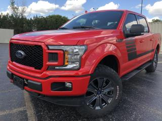 Used 2018 Ford F-150 XLT FX4 Sport Crew 4x4 for sale in Cayuga, ON