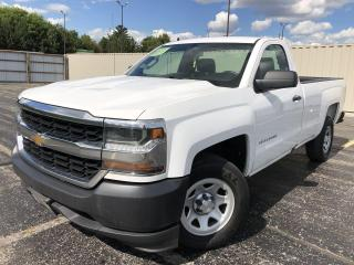 Used 2018 Chevrolet Silverado 1500 WT 2WD for sale in Cayuga, ON