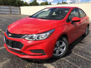 Used 2017 Chevrolet Cruze LS 2WD for sale in Cayuga, ON