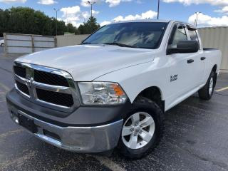 Used 2016 RAM 1500 Tradesman Quad 4X4 for sale in Cayuga, ON