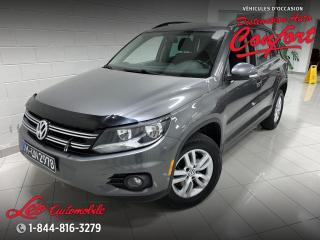 Used 2015 Volkswagen Tiguan Comfortline ** NOUVEL ARRIVAGE** for sale in Chicoutimi, QC