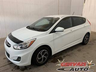 Used 2015 Hyundai Accent GL Hatch Mags A/C Sièges chauffants Bluetooth for sale in Shawinigan, QC