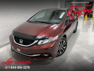 Used 2014 Honda Civic EX **NOUVEL ARRIVAGE** for sale in Chicoutimi, QC