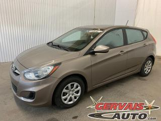 Used 2014 Hyundai Accent GL A/C Bluetooth Sièges Chauffants *Bas Kilométrage* for sale in Shawinigan, QC