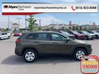 Used 2015 Jeep Cherokee SPORT  - Bluetooth -  Power Windows - $115 B/W for sale in Ottawa, ON