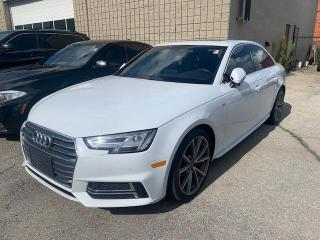Used 2017 Audi A4 4dr Sdn Auto Technik quattro / S-LINE / NAVIGATION for sale in North York, ON