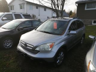 Used 2008 Honda CR-V EX-L for sale in Mallorytown, ON