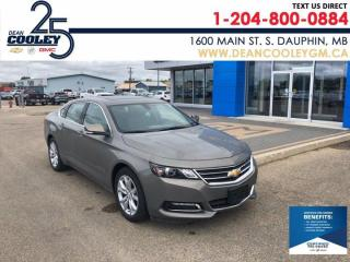 Used 2019 Chevrolet Impala LT for sale in Dauphin, MB
