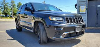 Used 2015 Jeep Grand Cherokee OVERLAND|DIESEL|NAV|4X4|LEATHER|1 ONWER for sale in Scarborough, ON