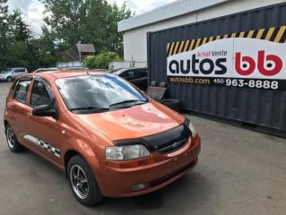 Used 2005 Chevrolet Aveo Familiale 5 portes LT for sale in Laval, QC