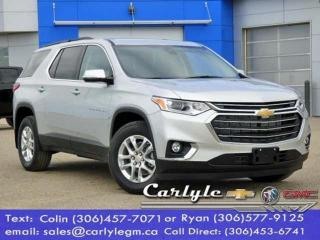 New 2020 Chevrolet Traverse LT Cloth for sale in Carlyle, SK