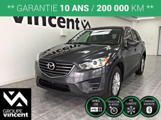 Used 2016 Mazda CX-5 GX ** GARANTIE 10 ANS ** VUS léger et polyvalent, incroyablement robuste, performant et économique! for sale in Shawinigan, QC