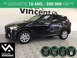 Used 2016 Mazda CX-5 GX AUTOMATIQUE ** GARANTIE 10 ANS ** VUS léger et polyvalent, incroyablement robuste, performant et économique! for sale in Shawinigan, QC