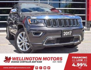 Used 2017 Jeep Grand Cherokee Limited - Sunroof - Navi - 4X4 !! for sale in Guelph, ON