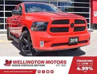 Used 2018 RAM 1500 Express | Quad Cab | 4x4 | Clean CarFax !! for sale in Guelph, ON