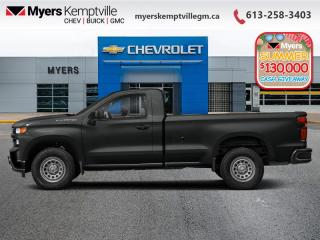 New 2020 Chevrolet Silverado 1500 Custom Trail Boss for sale in Kemptville, ON