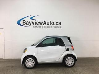 Used 2016 Smart fortwo Passion - NEW BODY! NAV! HTD SEATS! CHEAP COMMUTER CAR! for sale in Belleville, ON