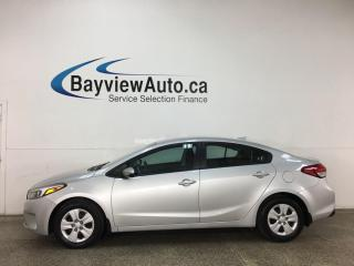 Used 2017 Kia Forte LX+ - AUTO! A/C! PWR GROUP! + MORE! for sale in Belleville, ON