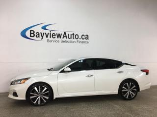 Used 2019 Nissan Altima 2.5 Platinum - AWD! SUNROOF! HTD LEATHER! NAV! LOADED! for sale in Belleville, ON