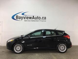 Used 2016 Ford Focus Electric - AUTO! HTD LEATHER! NAV! SYNC! ALLOYS! + MORE! for sale in Belleville, ON
